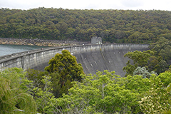 A keyhole view of Woronora Dam NSW 2508